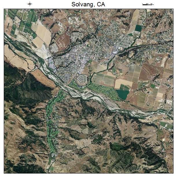 solvang california map