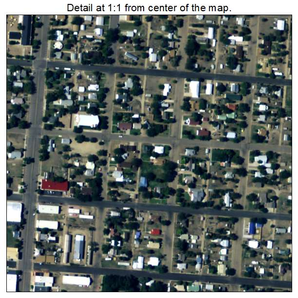 Eads, Colorado aerial imagery detail