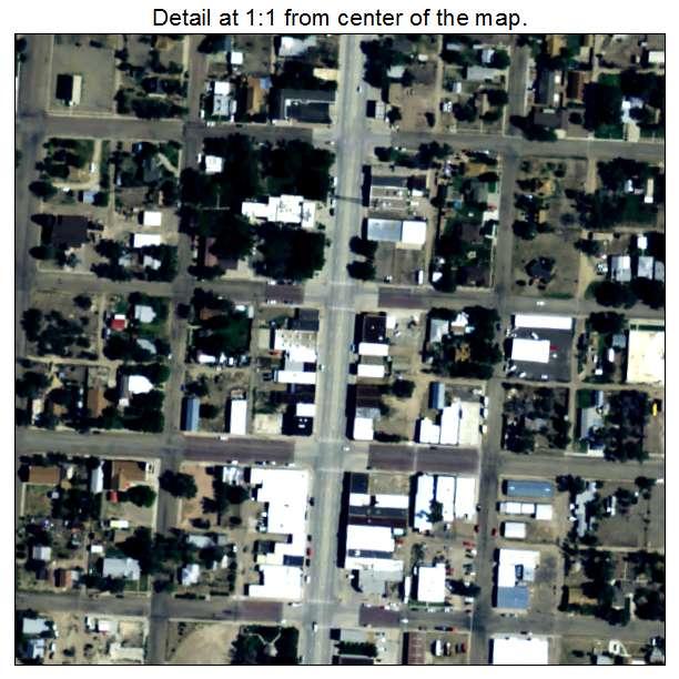 Springfield Colorado Map.Aerial Photography Map Of Springfield Co Colorado