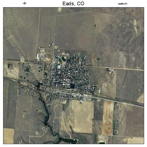 Eads, CO air photo map