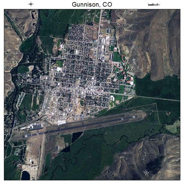 Gunnison County Colorado Map.Aerial Photography Map Of Gunnison Co Colorado