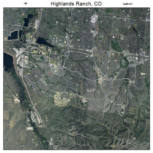 Highlands Ranch Town Center: Aerial Photography Map Of Highlands Ranch, CO Colorado