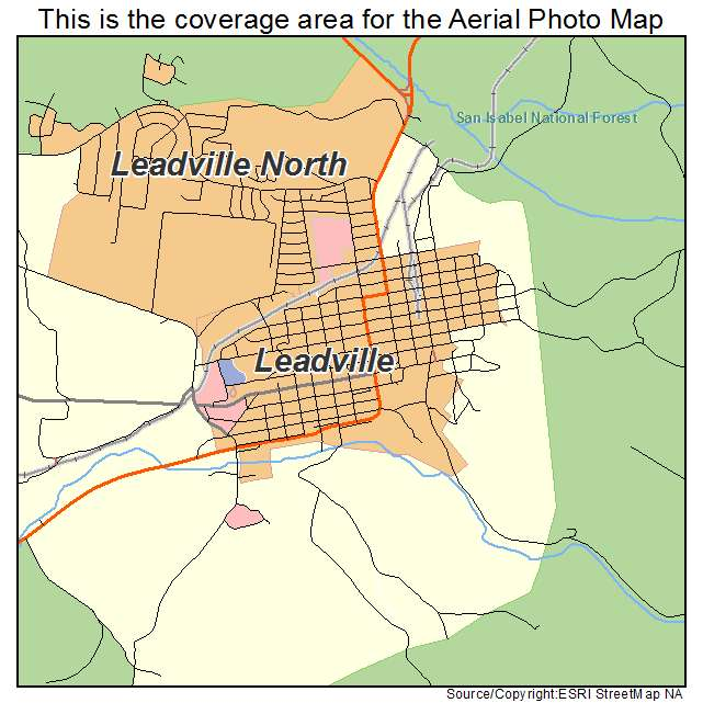 Leadville, CO location map