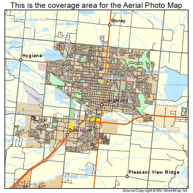 Longmont, CO location map