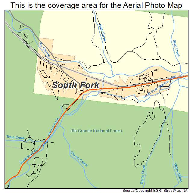 Aerial Photography Map Of Highlands Ranch Co Colorado: Lodging Near South Fork Colorado Images