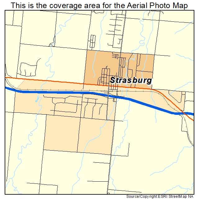 Strasburg Colorado Map.Aerial Photography Map Of Strasburg Co Colorado