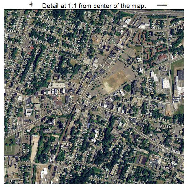 Aerial Photography Map Of Meriden Ct Connecticut