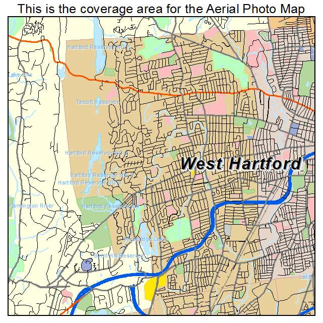 Hartford Ct Map  afputracom