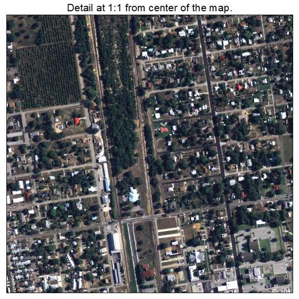Aerial Photography Map Of Avon Park, FL Florida