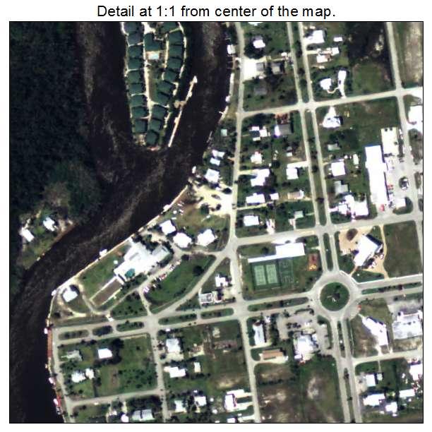 Everglades, Florida aerial imagery detail