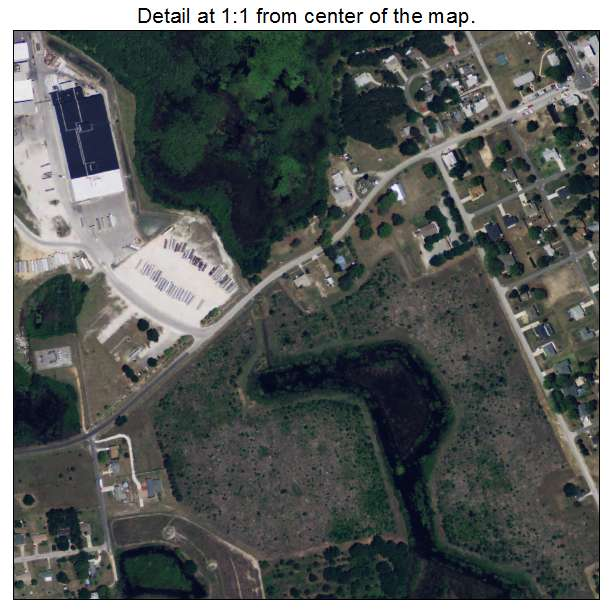 North Hills At Town Center: Aerial Photography Map Of Howey In The Hills, FL Florida