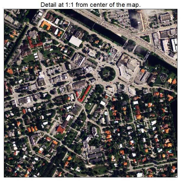 Miami Springs Florida Map.Aerial Photography Map Of Miami Springs Fl Florida