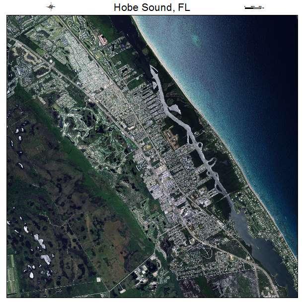 Hobe Sound Florida Map.Aerial Photography Map Of Hobe Sound Fl Florida
