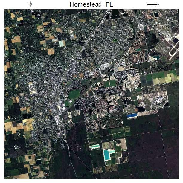 Map Homestead Florida.Aerial Photography Map Of Homestead Fl Florida