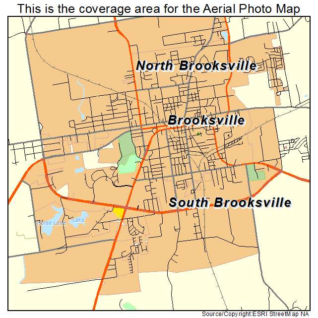 Brooksville Florida Map.Aerial Photography Map Of Brooksville Fl Florida