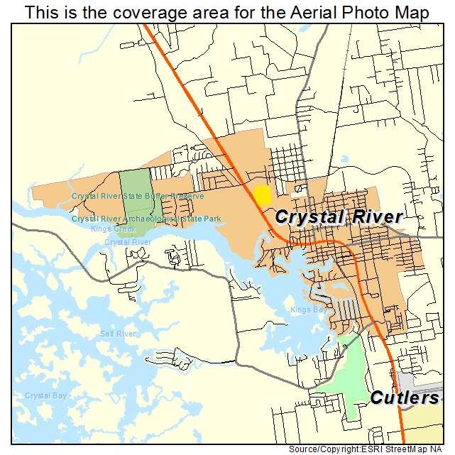 Map Of Crystal River Florida.Crystal River Florida Map Bnhspine Com