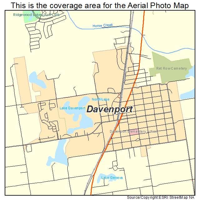 Map Of Davenport Florida.Aerial Photography Map Of Davenport Fl Florida
