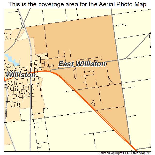 Williston Florida Map.Aerial Photography Map Of East Williston Fl Florida