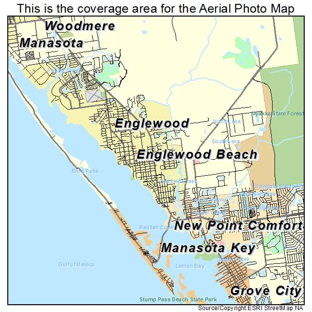 Map Of Englewood Florida | Florida Map