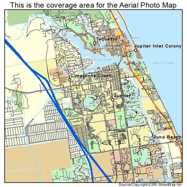 Jupiter Fl Location Map