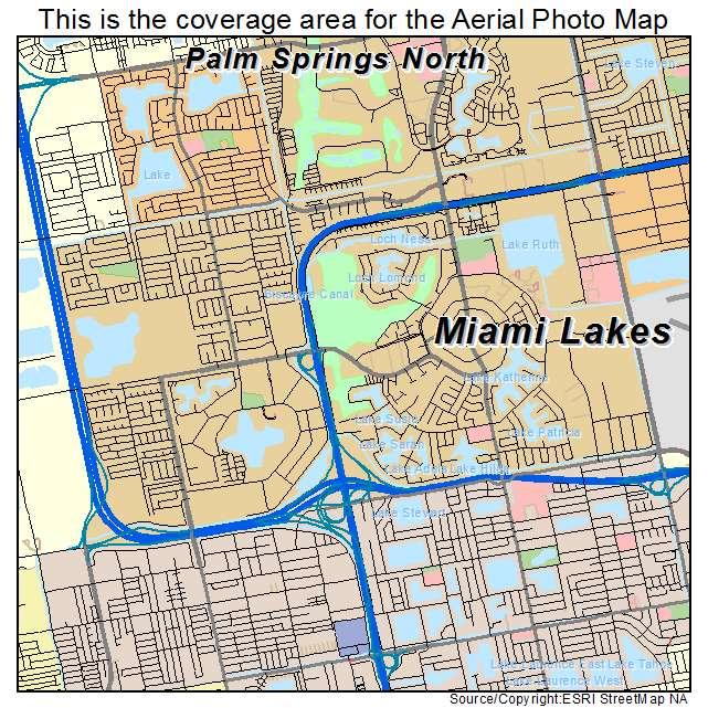 miami lakes florida map Aerial Photography Map Of Miami Lakes Fl Florida miami lakes florida map