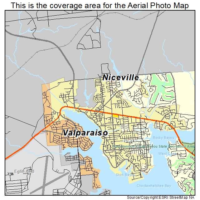 Niceville Florida Map.Niceville Florida Map Bnhspine Com