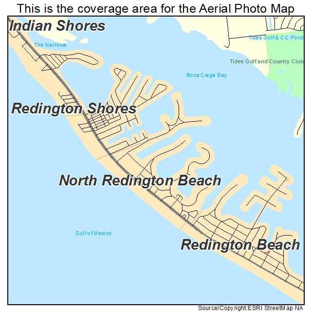 Redington Beach Florida Map