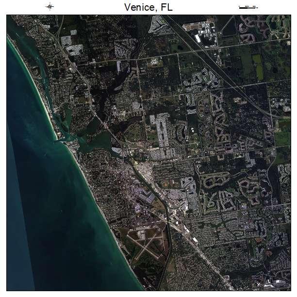 Map Venice Florida Area.Aerial Photography Map Of Venice Fl Florida