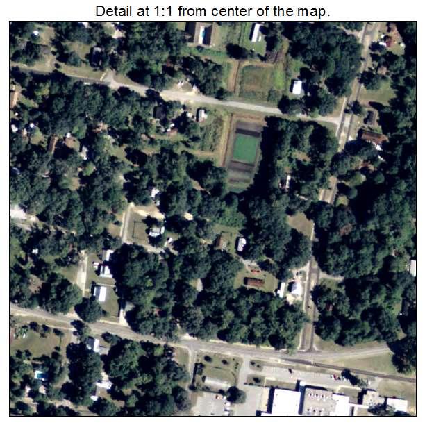 Darien, Georgia aerial imagery detail