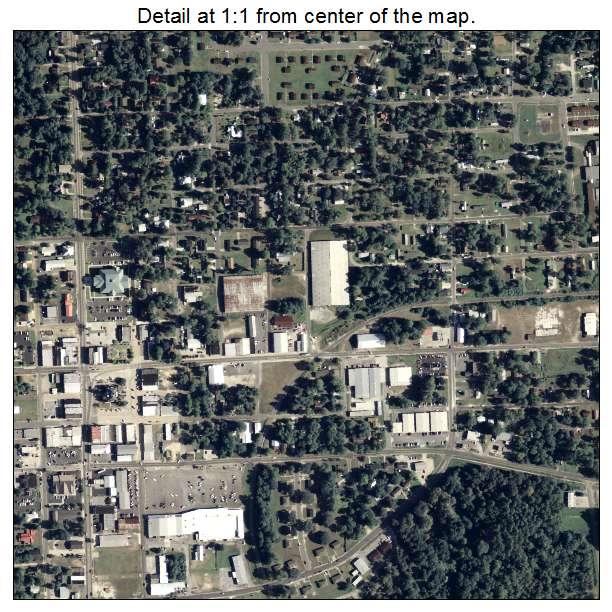 Nashville, Georgia aerial imagery detail