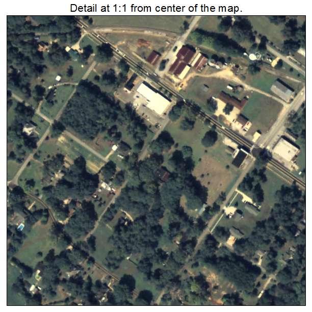 Newborn, Georgia aerial imagery detail