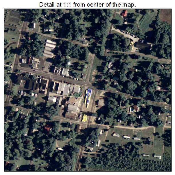 Norman Park, Georgia aerial imagery detail