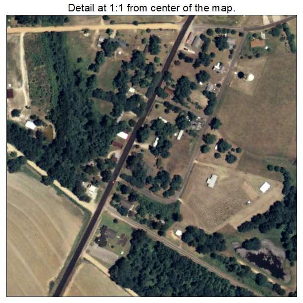 Nunez, Georgia aerial imagery detail