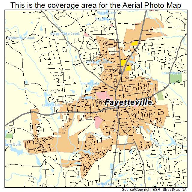 Aerial Photography Map Of Fayetteville GA Georgia - Georgia map fayetteville
