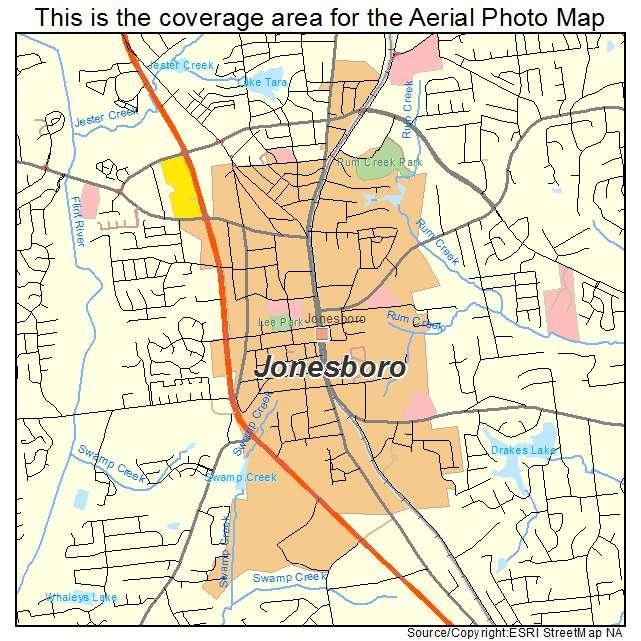 Map Of Jonesboro Georgia.Aerial Photography Map Of Jonesboro Ga Georgia