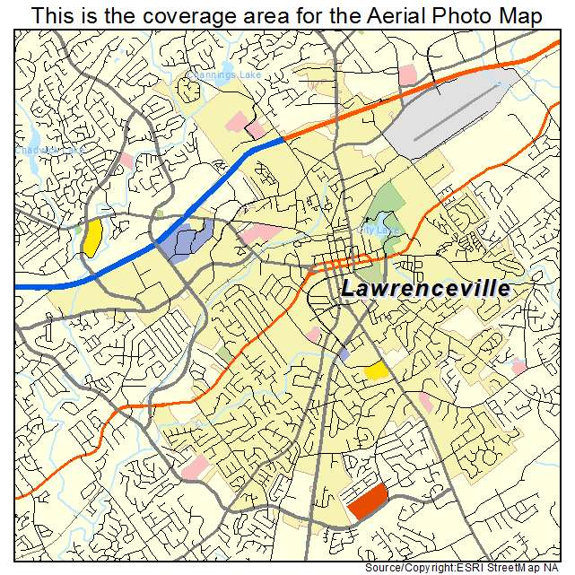 Lawrenceville Georgia Ga Profile Population Maps Html