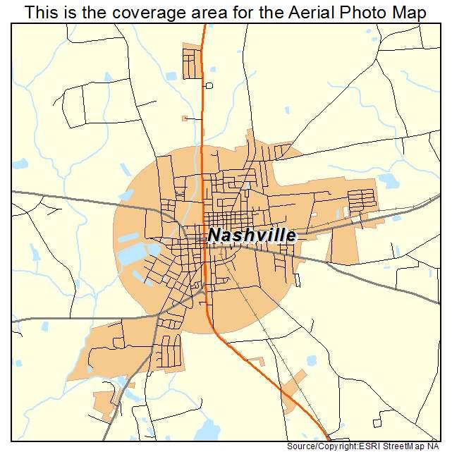 Nashville, GA location map