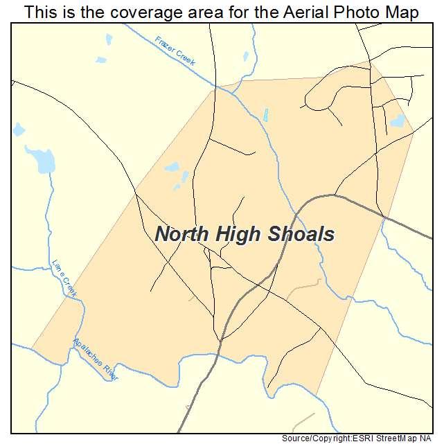 North High Shoals, GA location map