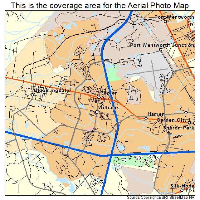 Pooler Ga Zip Code Map.Aerial Photography Map Of Pooler Ga Georgia