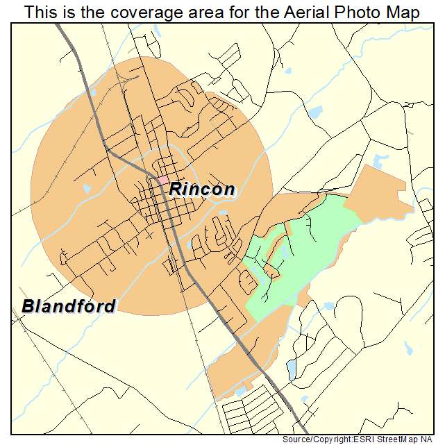 Rincon Georgia Map Aerial Photography Map of Rincon, GA Georgia