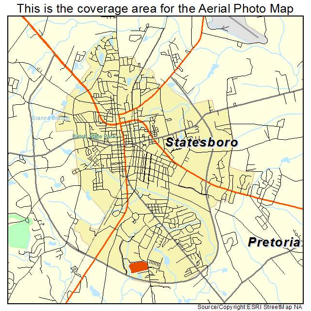 Statesboro, GA Georgia Aerial Photography Map 2015 on terre haute indiana on map, fort stewart georgia map, beaufort south carolina on map, statesboro ga map,
