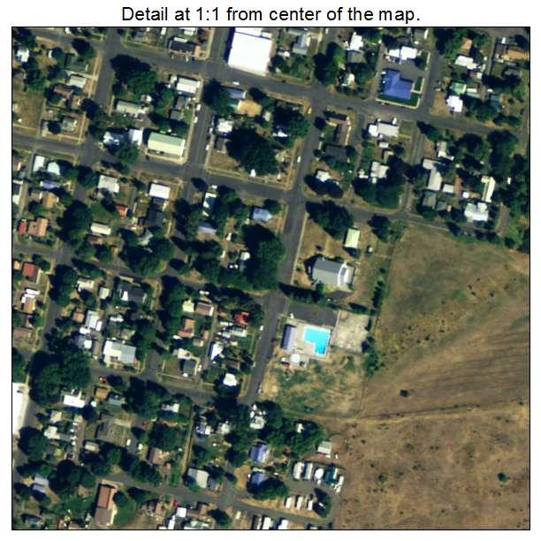Kamiah, Idaho aerial imagery detail