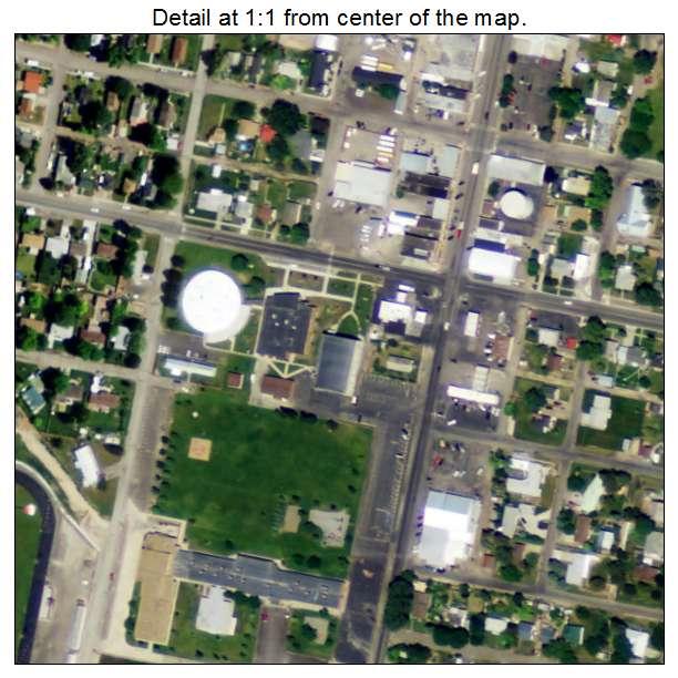 Kimberly, Idaho aerial imagery detail