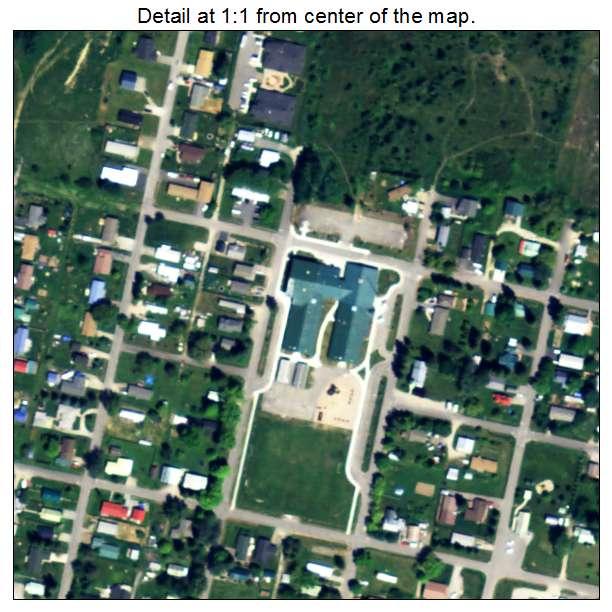 Kootenai, Idaho aerial imagery detail