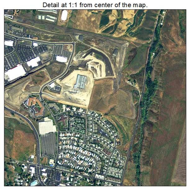 Lewiston, Idaho aerial imagery detail