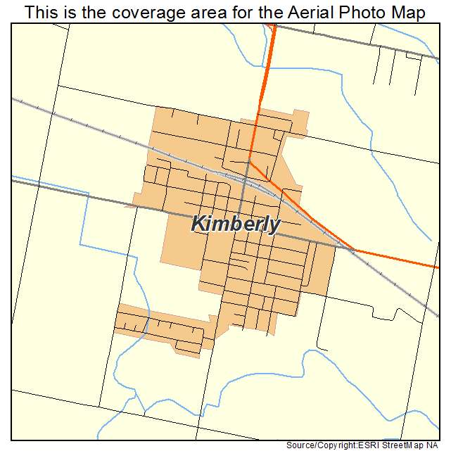 Kimberly, ID location map