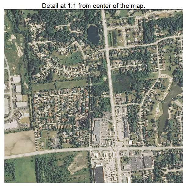 Bartlett, Illinois aerial imagery detail