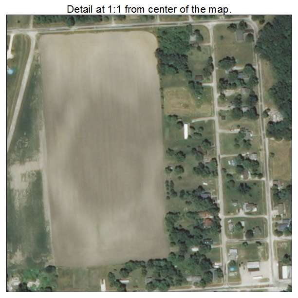 Chesterfield, Illinois aerial imagery detail