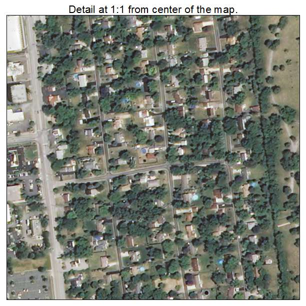 Aerial photography map of oakbrook terrace il illinois for 1 oakbrook terrace