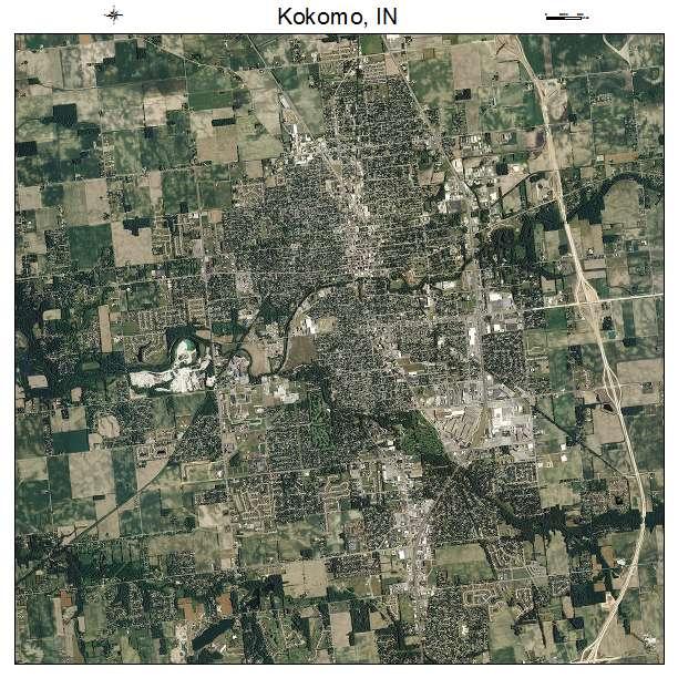 Alf Img Showing Street Map Of Kokomo Indiana